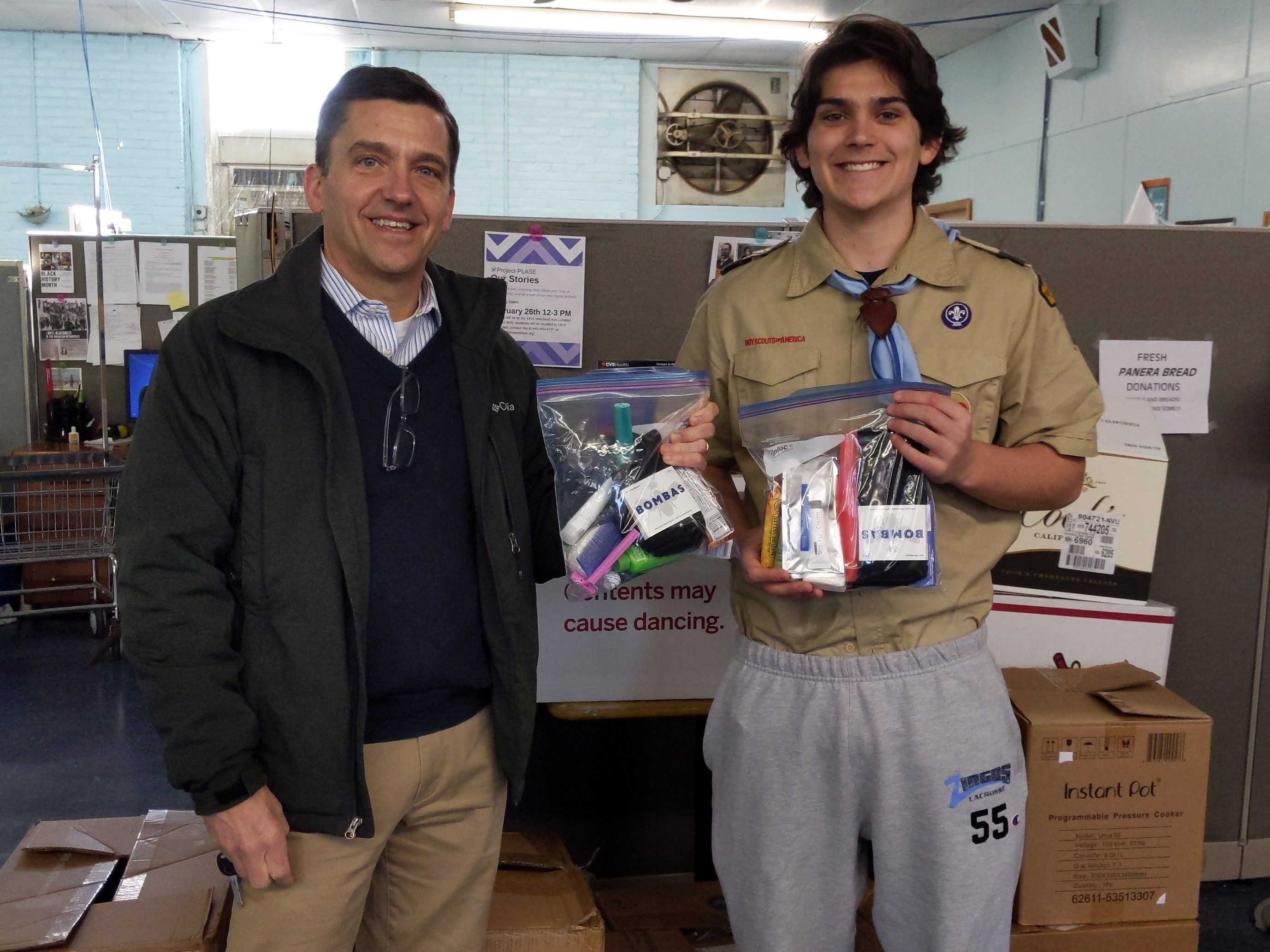 James Eagle Scout Hygeine Kits1
