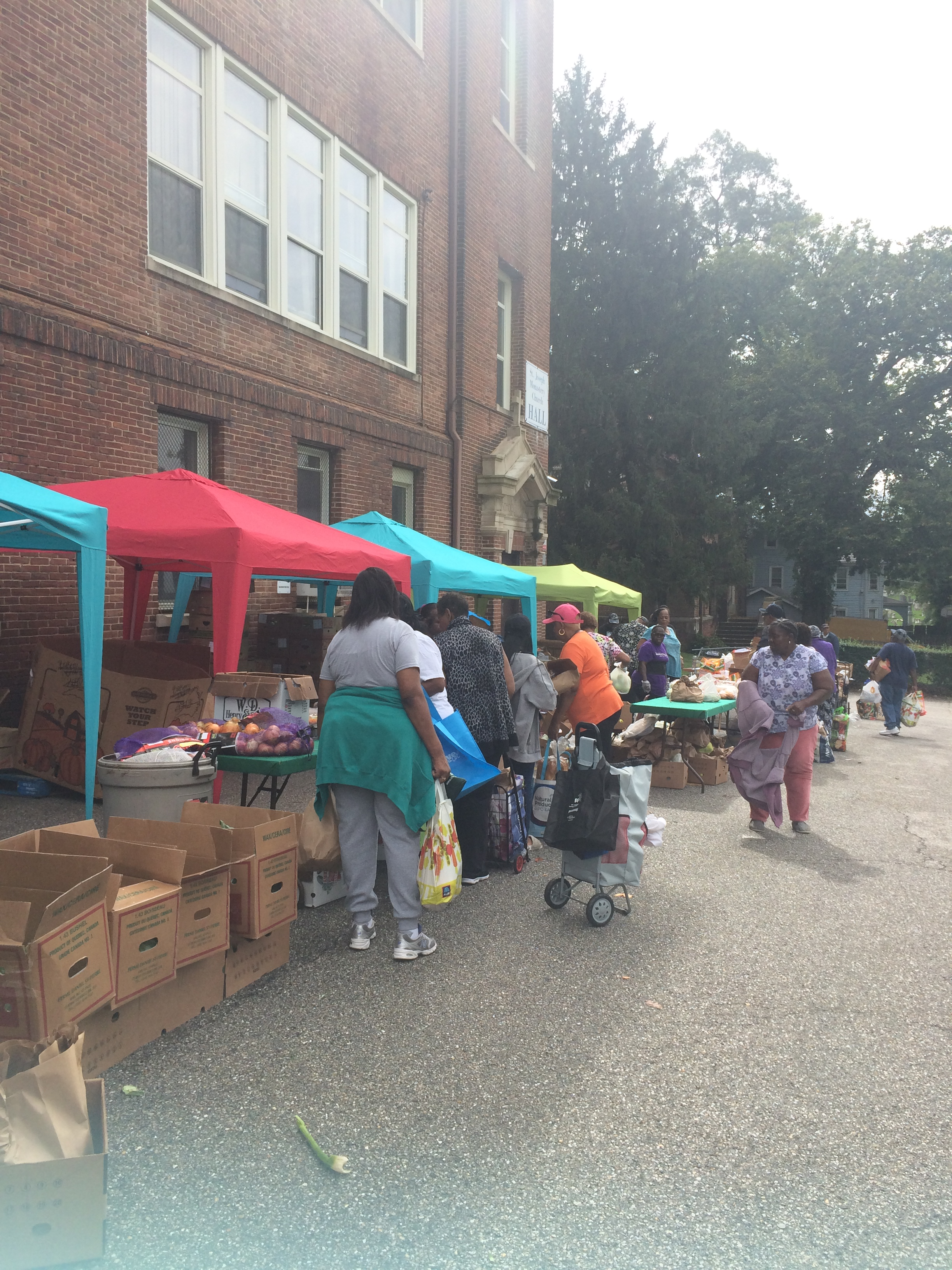 Monthly Food Distribution Day